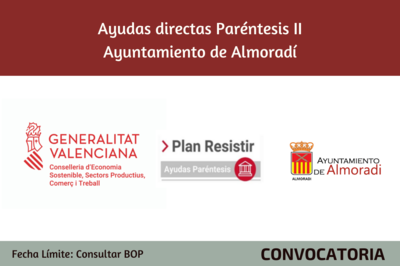 Ayudas Económicas Covid 19 - Ayuntamiento Almoradí