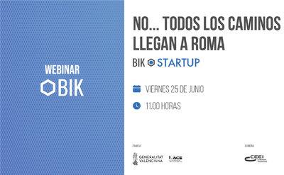 Presentación Webinar BIK NO..... TODOS LOS CAMINOS LLEVAN A ROMA