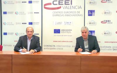 CEEI Valencia firma un acuerdo de colaboración con el Círculo de Estudios sobre Innovación 1