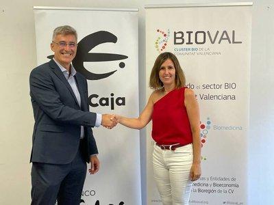 Firma Convenio Ibercaja y Bioval