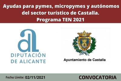 Ayudas sector turístico Castalla