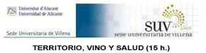 """La Universidad de Alicante organiza el curso """"Territorio, vino y salud"""""""