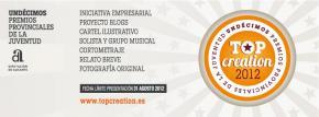 La Diputación de Alicante convoca los 11os Premios Top Creación