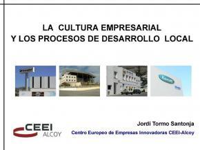 La cultura empresarial i els processos de desenvolupament local
