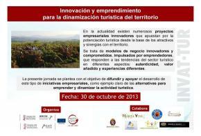 Innovación y emprendimiento para la dinamización turística del territorio