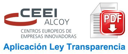 CEEI Alcoy - Convenio con Diputación Alicante 2014