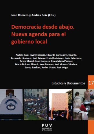 """Llibre """"Democracia desde abajo"""""""