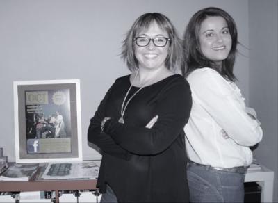 Beatriz y Raquel Gavinet Comunica't.