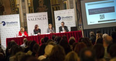 La Diputació de València presenta la seva xarxa de suport als ADL