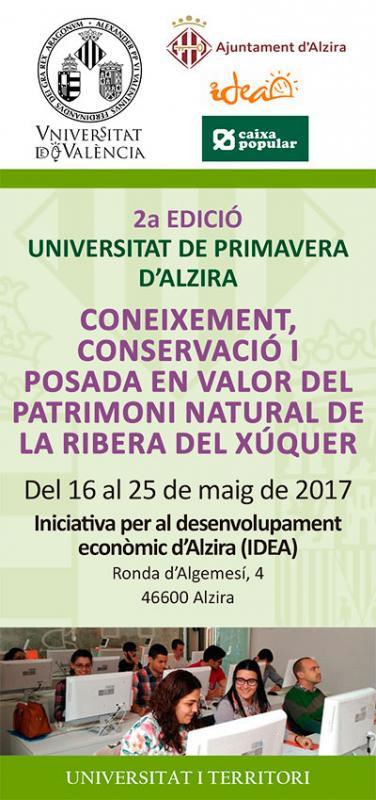 Alzira acoge la 2ª Edición de la Universidad de Primavera
