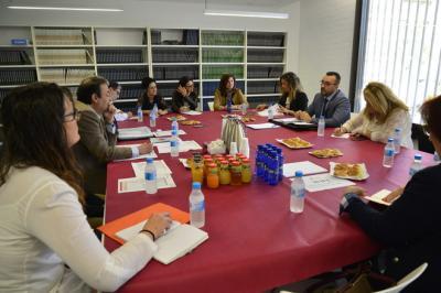 Reunión entre ASEBEC, el Ayuntamiento de Vila-real y los centros
