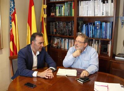 Rafael Serralta y Josep Antoni Ybarra
