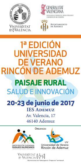 Universidad de Verano Rincón de Ademuz