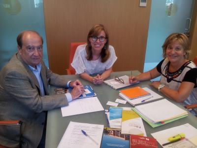 Reunión de trabajo CEEI y Dirección General
