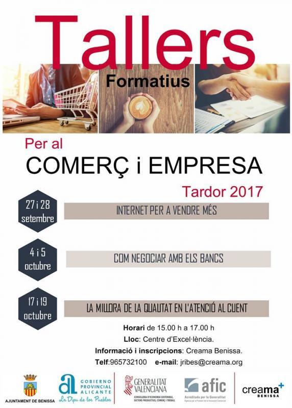 Programa talleres Benissa