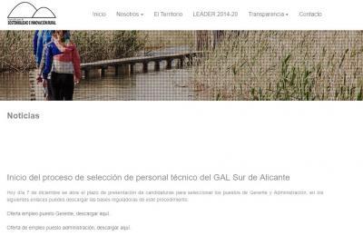 GAL Sul de Alicante. Selección personal