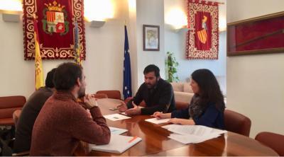 Reunión en el Ayuntamiento de Canals