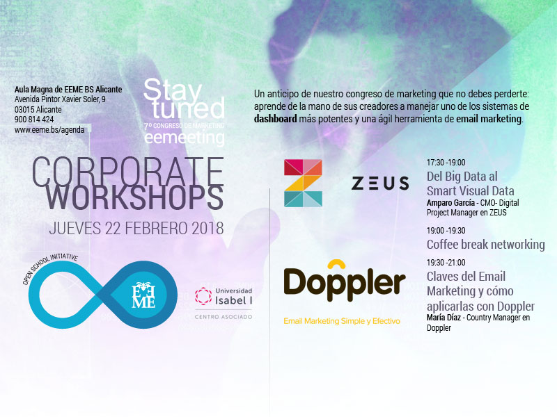 Corporate workshops  sobre dashboards y email marketing