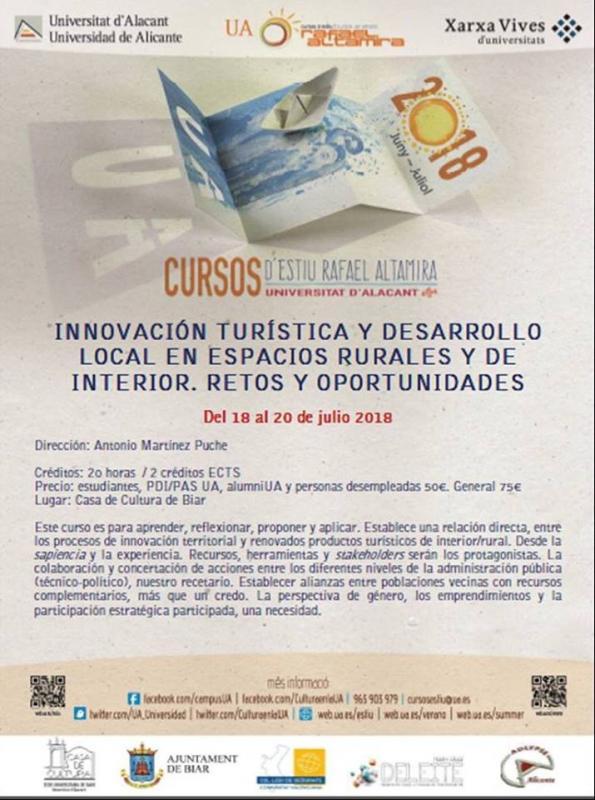 Innovación turística y desarrollo local
