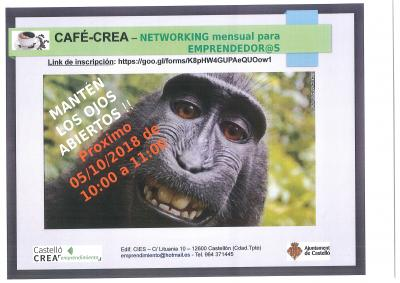 Networking para emprendedor@s CAFE-CREA