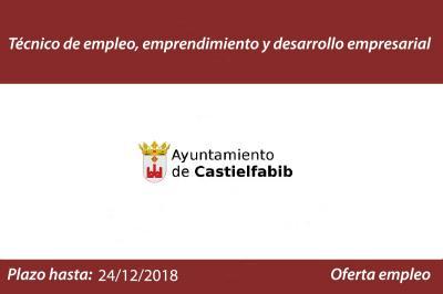 Oferta empleo Ayto Castielfabid