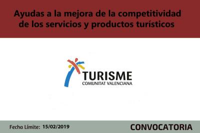 Ayudas Turisme Comunitat Valenciana