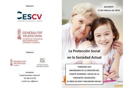 Jornada: La protección social en la sociedad actual