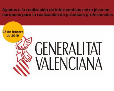 Ayudas destinadas a la realización de intercambios entre jóvenes europeos para la realización de prácticas profesionales