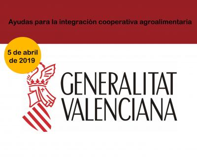 Ayudas cooperativas agroalimentarias CV