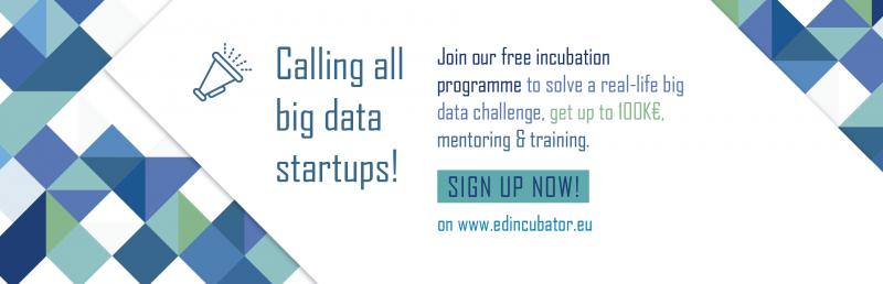 Convocatoria European Data Incubator