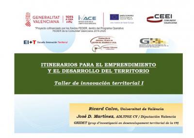 Presentación del Taller de Innovación Territorial