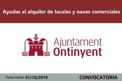 Ayudas Alquiler Naves y Locales en Ontinyent