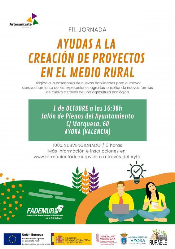 Jornada sobre Ayudas a la Creación de Proyecto en el Medio Rural