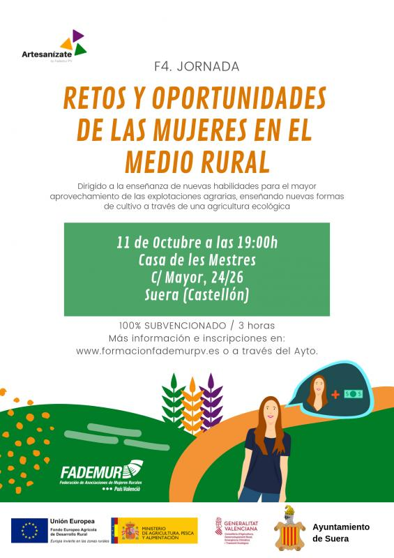 Jornada retos y oportunidades de las mujeres en el medio rural