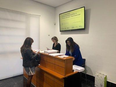 Recepción I Congreso Emprendimiento e Innovación Territorial CV