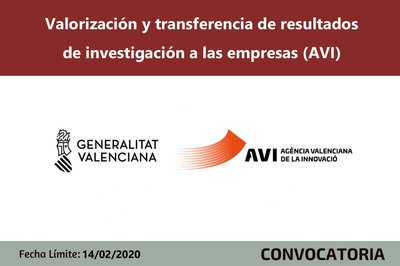 Valorización y transferencia de resultados de investigación a las empresas