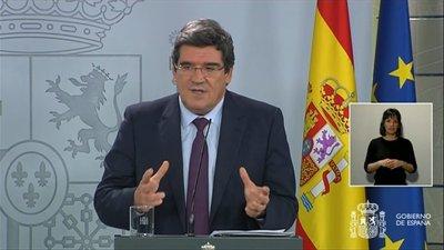 José Luis Escrivá. Ministro de Seguridad Social Gobierno de España
