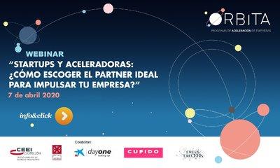 Nos vamos de gira con Órbita, Call for startups! Webinars