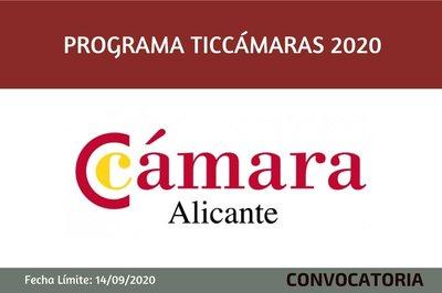Programa TICCÁMARAS 2020