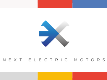 Next Electric Motors logo scaleup
