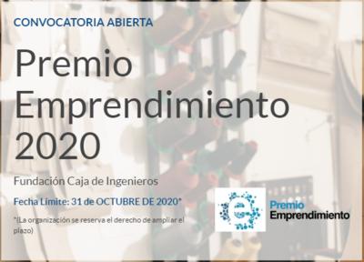 VIII edición Premio Emprendimiento de la Fundación Caja de Ingenieros