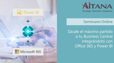 Sácale el máximo partido a tu Business Central integrándolo con Office 365 y Power BI