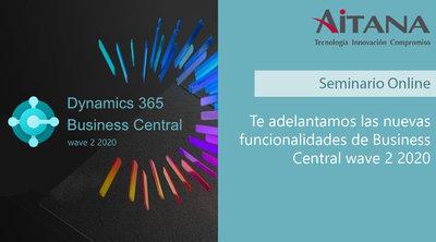 Te adelantamos las nuevas funcionalidades de Business Central wave 2 2020