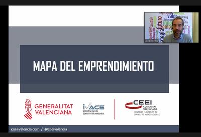Jordi Tormo explicó el Mapa del Emprendimiento.