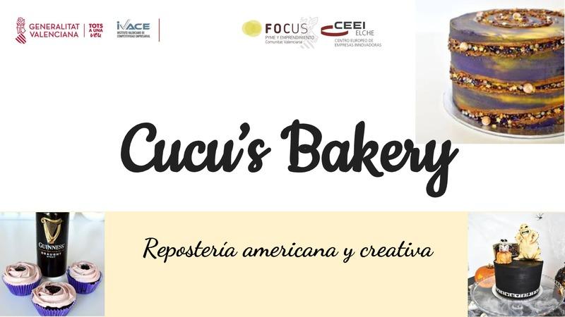 Cucu's Bakery - Repostería americacana y creativa (Portada)