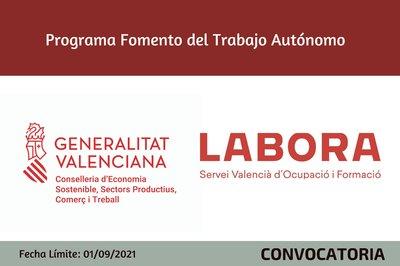 Programa de foment de l'ocupació en el treball autònom