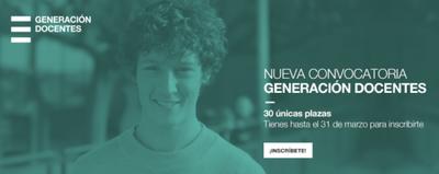 Convocatoria Generación Docentes 2021