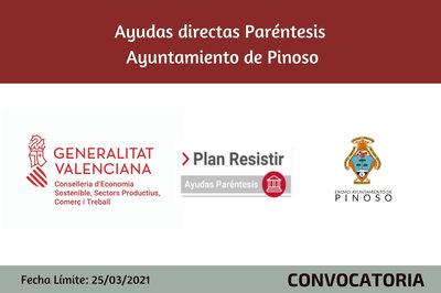 Ayudas Económicas Covid 19 - Ayuntamiento de Pinoso