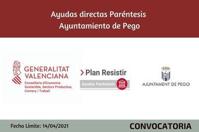 Ayudas Económicas Covid 19 - Ayuntamiento Pego