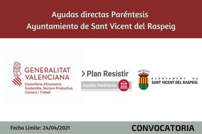 Ayudas Económicas Covid 19 - Ayuntamiento de Sant Vicent del Raspeig